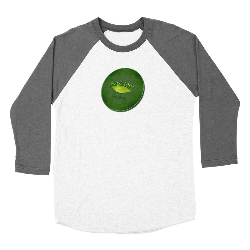 Tree Love ( / ) Green Leaf Lips Women's Longsleeve T-Shirt by ACEMETRICAL ( / ) Disc Golf