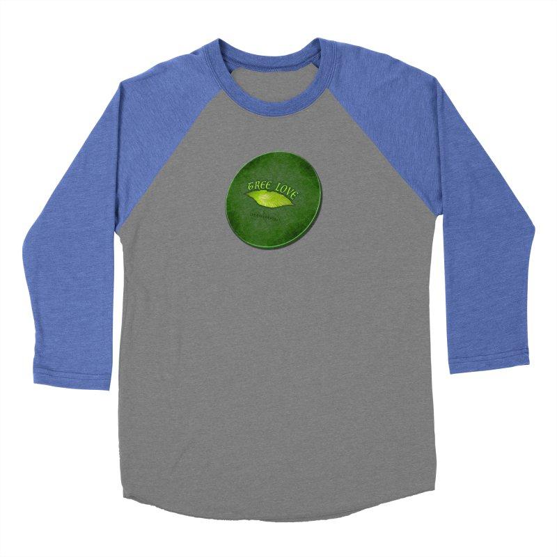Tree Love ( / ) Green Leaf Lips Men's Longsleeve T-Shirt by ACEMETRICAL ( / ) Disc Golf