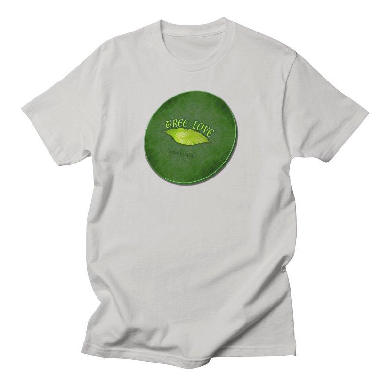 Tree Love ( / ) Green Leaf Lips Women's T-Shirt by ACEMETRICAL ( / ) Disc Golf