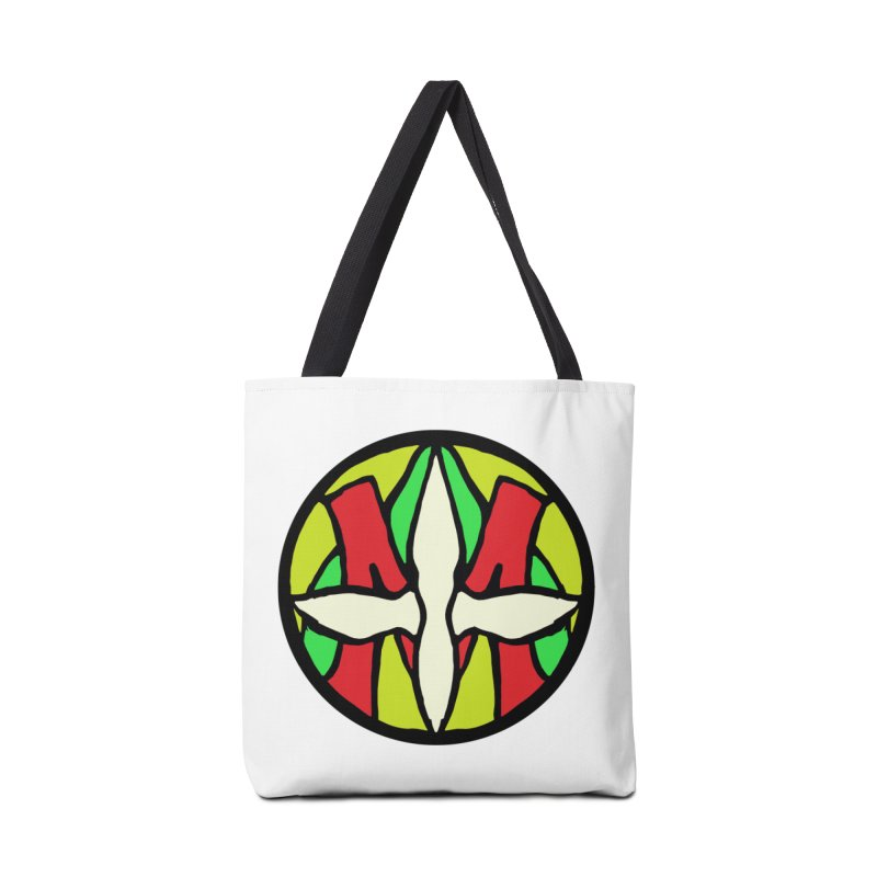 ACEMETRICAL ( / ) CIRCLE LOGO - Sublime Contiuum Accessories Tote Bag Bag by ACEMETRICAL ( / ) Disc Golf