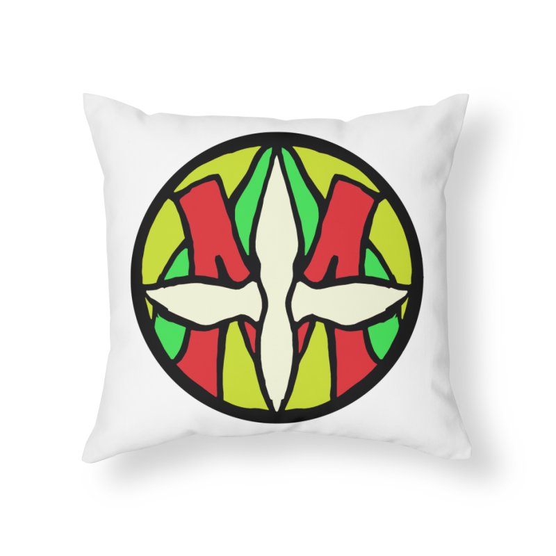 ACEMETRICAL ( / ) CIRCLE LOGO - Sublime Contiuum Home Throw Pillow by ACEMETRICAL ( / ) Disc Golf