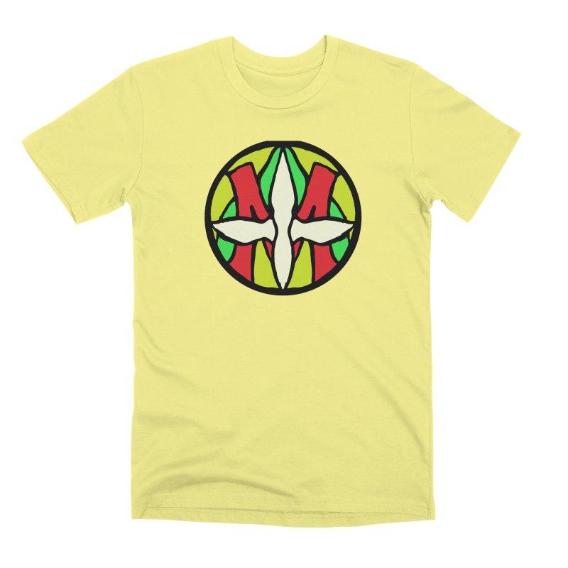 ACEMETRICAL ( / ) CIRCLE LOGO - Sublime Contiuum Men's Premium T-Shirt by ACEMETRICAL ( / ) Disc Golf
