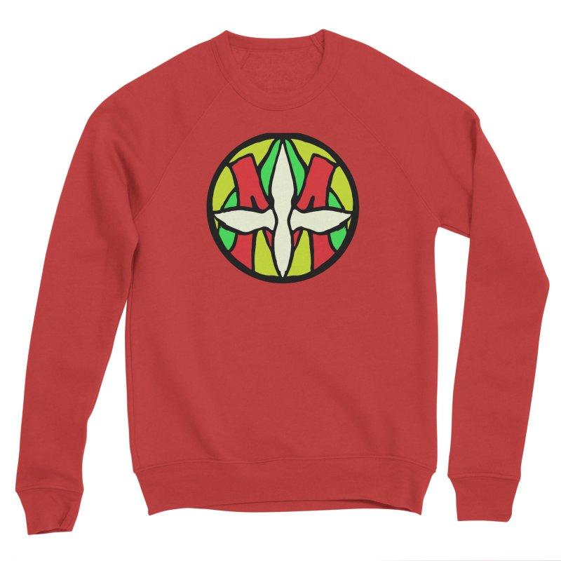 ACEMETRICAL ( / ) CIRCLE LOGO - Sublime Contiuum Men's Sponge Fleece Sweatshirt by ACEMETRICAL ( / ) Disc Golf