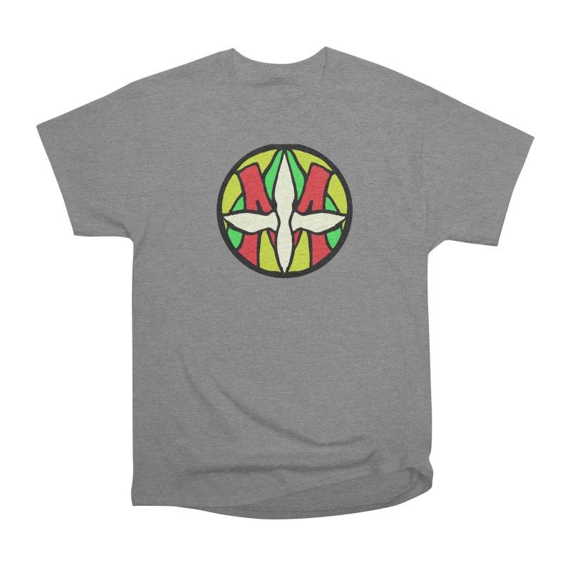 ACEMETRICAL ( / ) CIRCLE LOGO - Sublime Contiuum Women's Heavyweight Unisex T-Shirt by ACEMETRICAL ( / ) Disc Golf
