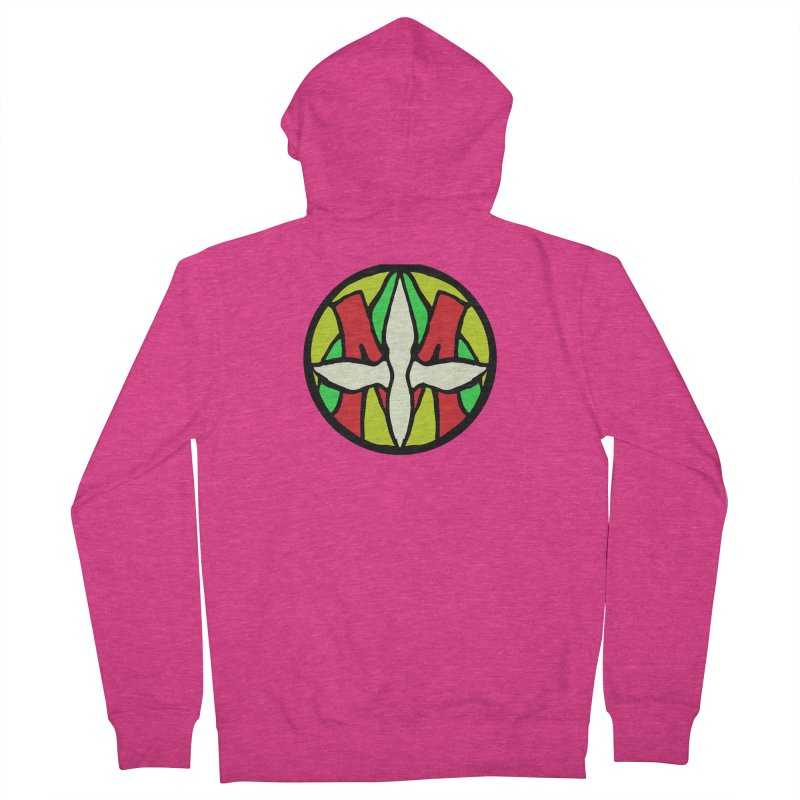 ACEMETRICAL ( / ) CIRCLE LOGO - Sublime Contiuum Women's Zip-Up Hoody by ACEMETRICAL ( / ) Disc Golf