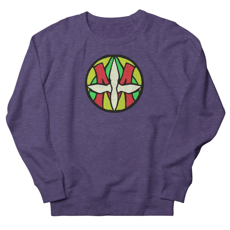 ACEMETRICAL ( / ) CIRCLE LOGO - Sublime Contiuum Women's French Terry Sweatshirt by ACEMETRICAL ( / ) Disc Golf