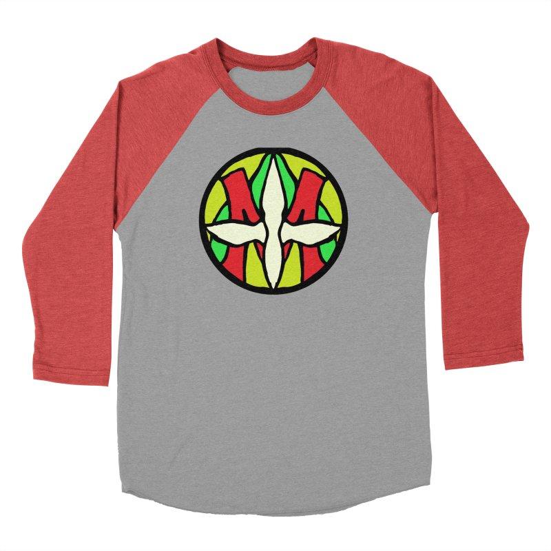 ACEMETRICAL ( / ) CIRCLE LOGO - Sublime Contiuum Men's Baseball Triblend Longsleeve T-Shirt by ACEMETRICAL ( / ) Disc Golf
