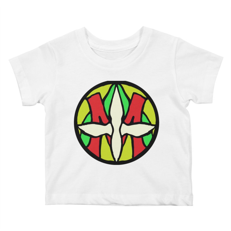 ACEMETRICAL ( / ) CIRCLE LOGO - Sublime Contiuum Kids Baby T-Shirt by ACEMETRICAL ( / ) Disc Golf