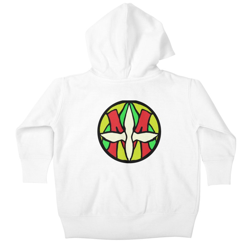 ACEMETRICAL ( / ) CIRCLE LOGO - Sublime Contiuum Kids Baby Zip-Up Hoody by ACEMETRICAL ( / ) Disc Golf