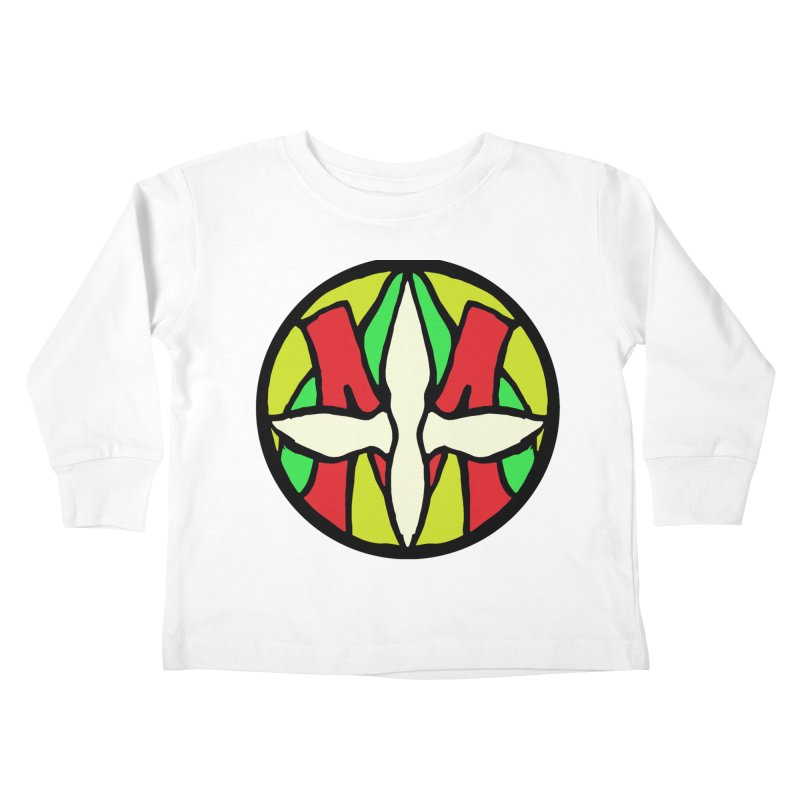 ACEMETRICAL ( / ) CIRCLE LOGO - Sublime Contiuum Kids Toddler Longsleeve T-Shirt by ACEMETRICAL ( / ) Disc Golf