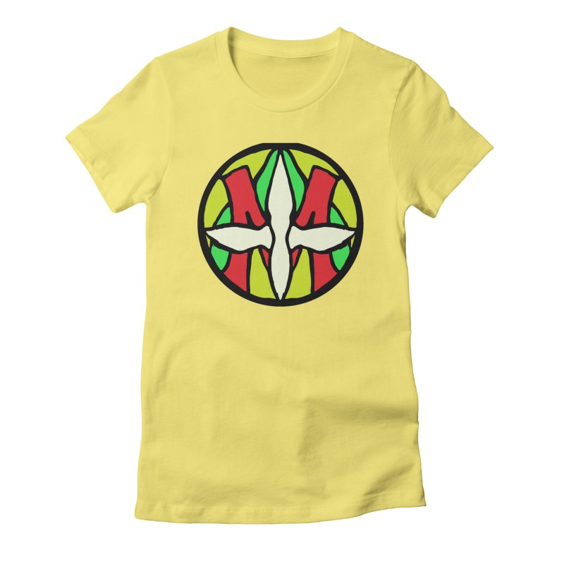 ACEMETRICAL ( / ) CIRCLE LOGO - Sublime Contiuum Women's Fitted T-Shirt by ACEMETRICAL ( / ) Disc Golf