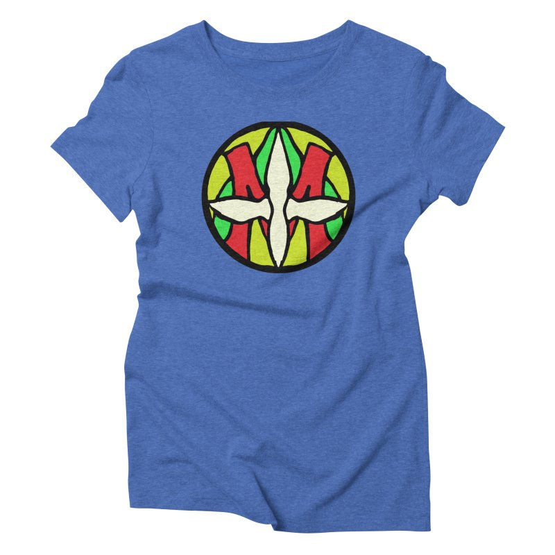 ACEMETRICAL ( / ) CIRCLE LOGO - Sublime Contiuum Women's Triblend T-Shirt by ACEMETRICAL ( / ) Disc Golf