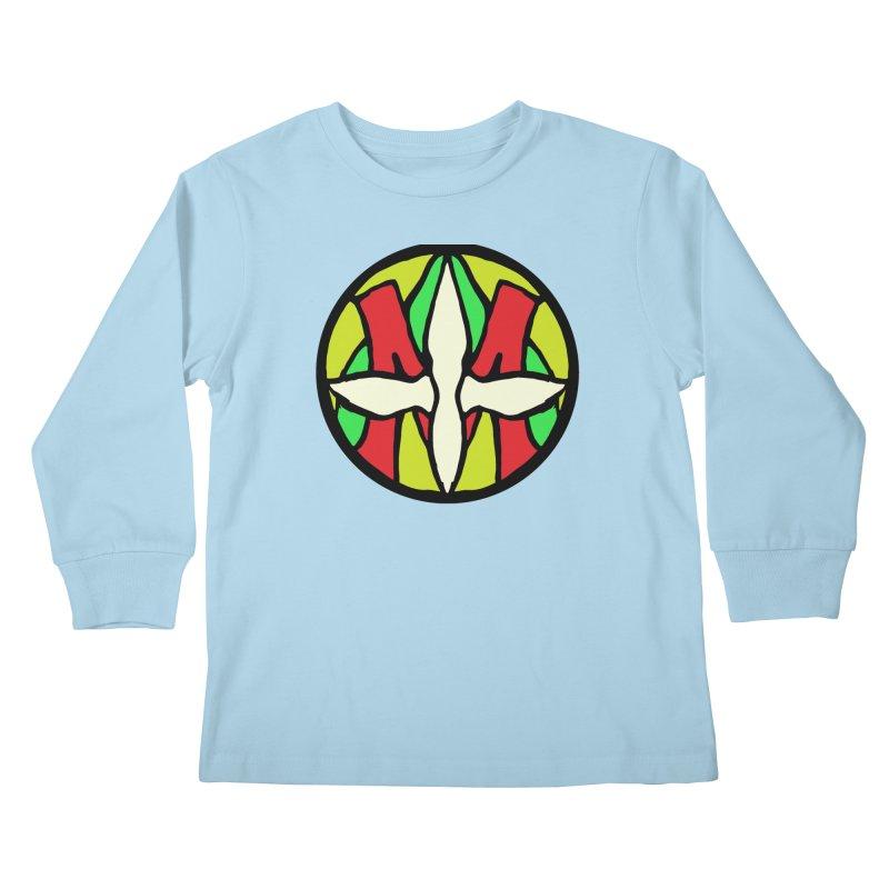 ACEMETRICAL ( / ) CIRCLE LOGO - Sublime Contiuum Kids Longsleeve T-Shirt by ACEMETRICAL ( / ) Disc Golf