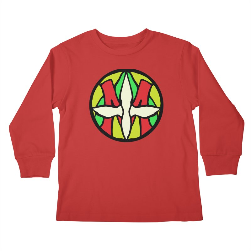 ACEMETRICAL ( / ) CIRCLE LOGO - Sublime Contiuum Kids Longsleeve T-Shirt by ACEMETRICAL ( / ) Disc Golf