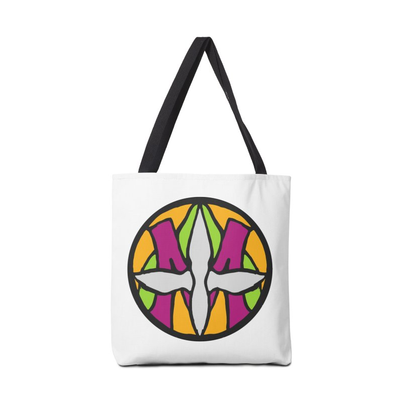 ACEMETRICAL ( / ) CIRCLE LOGO - Morning Star Accessories Tote Bag Bag by ACEMETRICAL ( / ) Disc Golf