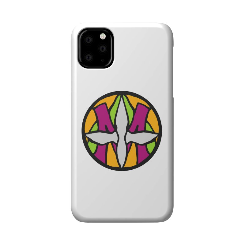 ACEMETRICAL ( / ) CIRCLE LOGO - Morning Star Accessories Phone Case by ACEMETRICAL ( / ) Disc Golf
