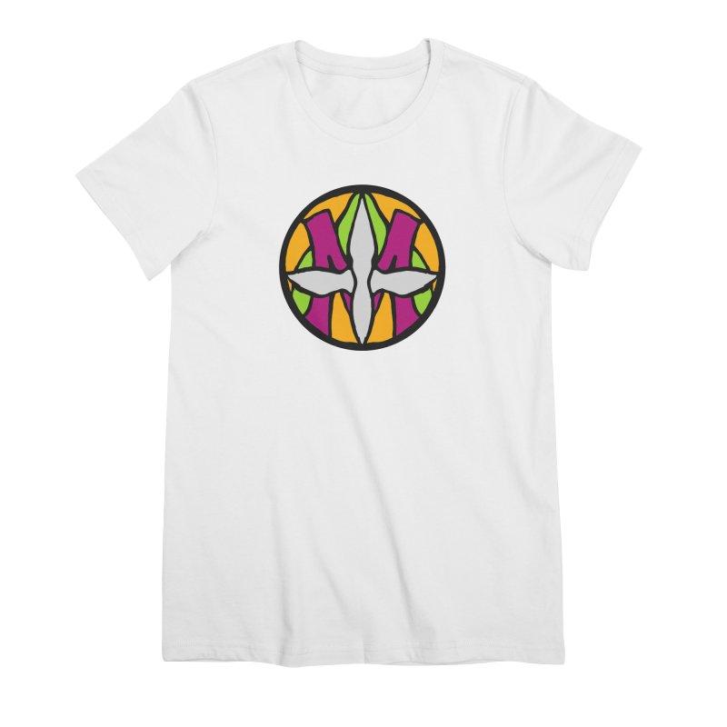 ACEMETRICAL ( / ) CIRCLE LOGO - Morning Star Women's Premium T-Shirt by ACEMETRICAL ( / ) Disc Golf