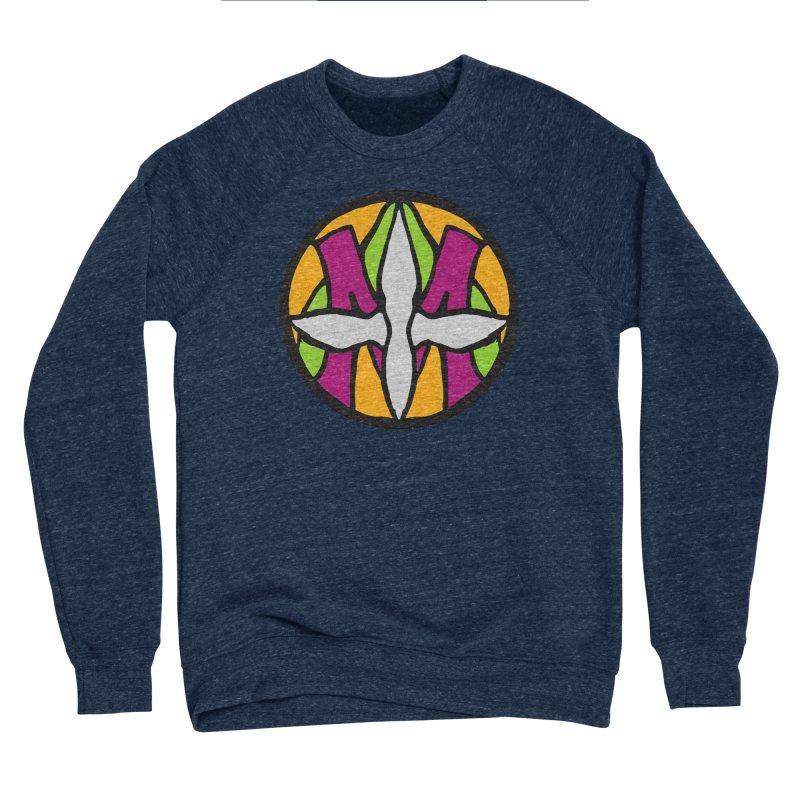 ACEMETRICAL ( / ) CIRCLE LOGO - Morning Star Women's Sponge Fleece Sweatshirt by ACEMETRICAL ( / ) Disc Golf