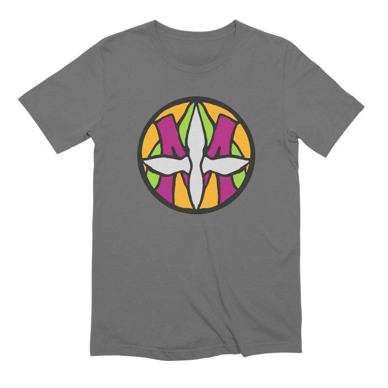 ACEMETRICAL ( / ) CIRCLE LOGO - Morning Star Men's Extra Soft T-Shirt by ACEMETRICAL ( / ) Disc Golf