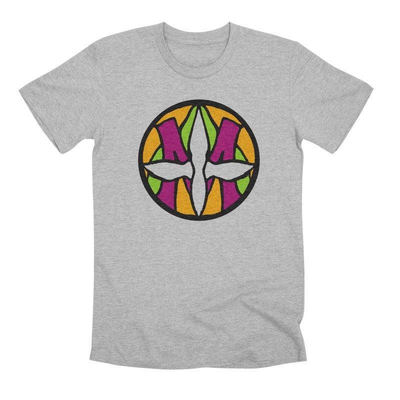 ACEMETRICAL ( / ) CIRCLE LOGO - Morning Star Men's Premium T-Shirt by ACEMETRICAL ( / ) Disc Golf