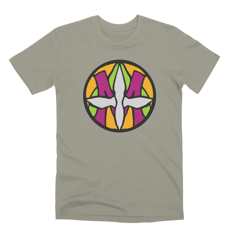 ACEMETRICAL ( / ) CIRCLE LOGO - Morning Star Men's Premium T-Shirt by ACEMETRICAL ( / ) Disc Golf
