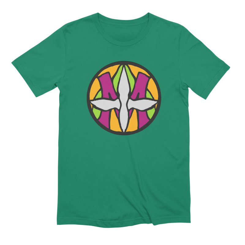 ACEMETRICAL ( / ) CIRCLE LOGO - Morning Star Men's Extra Soft T-Shirt by ACEMETRICAL ( / ) Disc Golf