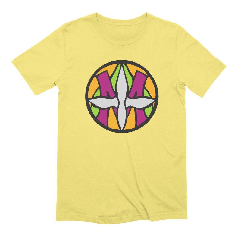 ACEMETRICAL ( / ) CIRCLE LOGO - Morning Star Men's T-Shirt by ACEMETRICAL ( / ) Disc Golf