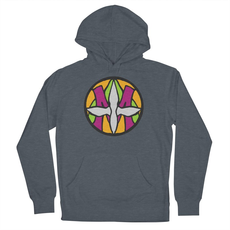 ACEMETRICAL ( / ) CIRCLE LOGO - Morning Star Women's French Terry Pullover Hoody by ACEMETRICAL ( / ) Disc Golf