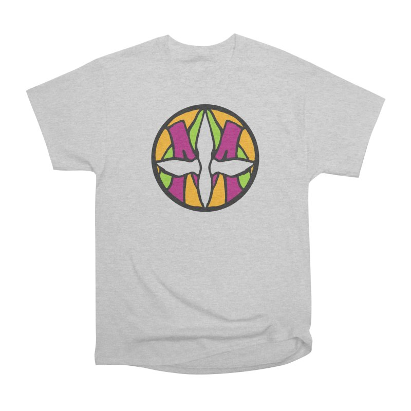 ACEMETRICAL ( / ) CIRCLE LOGO - Morning Star Women's Heavyweight Unisex T-Shirt by ACEMETRICAL ( / ) Disc Golf