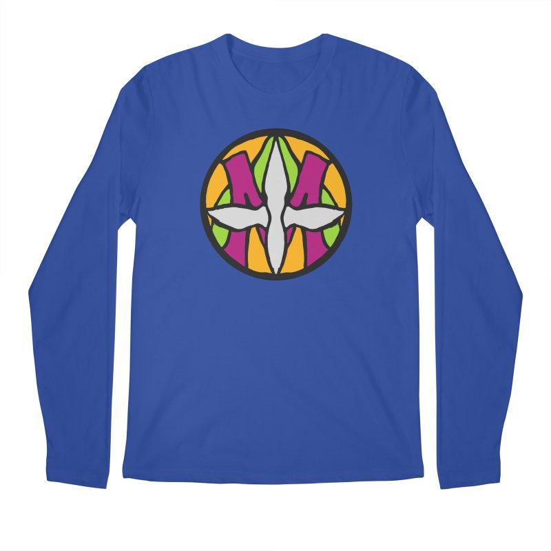 ACEMETRICAL ( / ) CIRCLE LOGO - Morning Star Men's Regular Longsleeve T-Shirt by ACEMETRICAL ( / ) Disc Golf