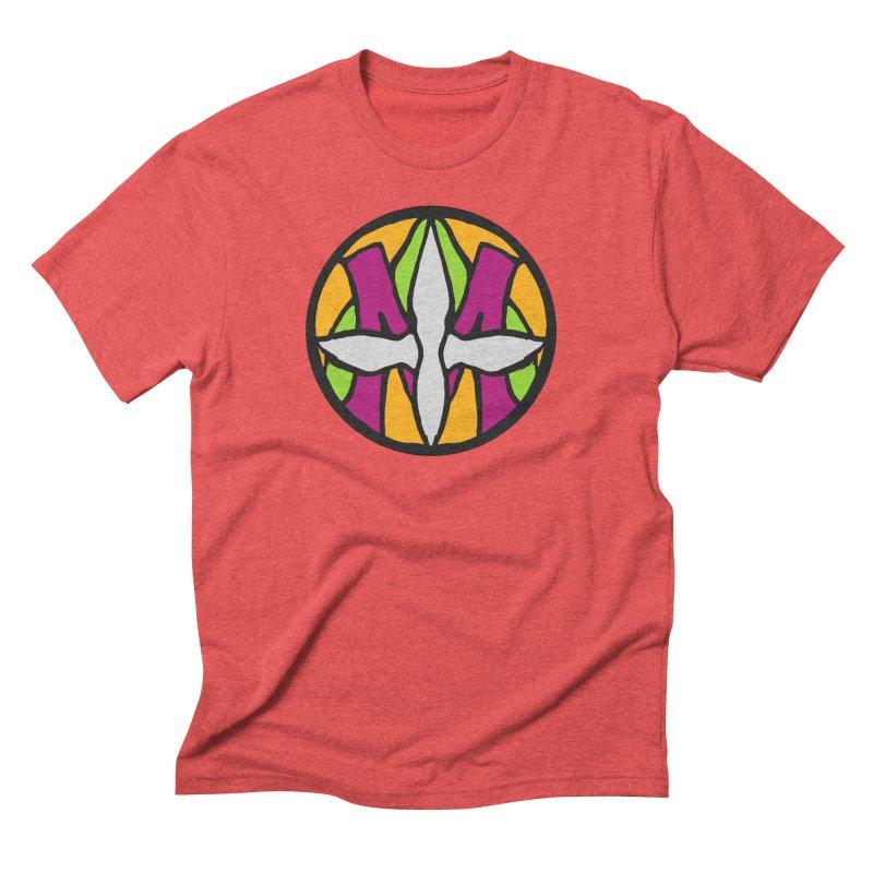 ACEMETRICAL ( / ) CIRCLE LOGO - Morning Star Men's Triblend T-Shirt by ACEMETRICAL ( / ) Disc Golf