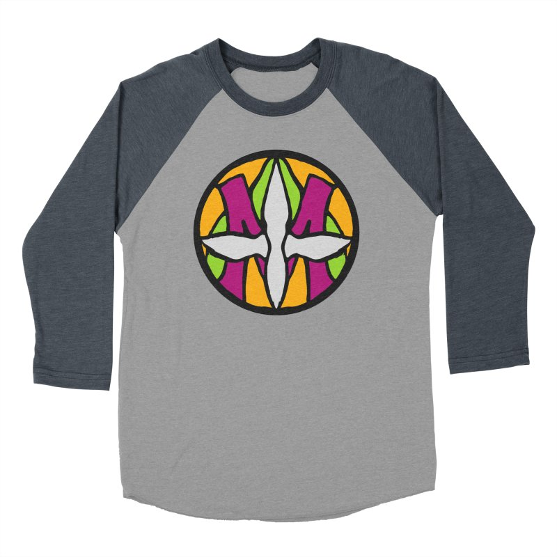 ACEMETRICAL ( / ) CIRCLE LOGO - Morning Star Women's Baseball Triblend Longsleeve T-Shirt by ACEMETRICAL ( / ) Disc Golf