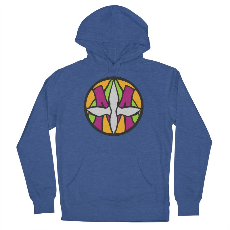 ACEMETRICAL ( / ) CIRCLE LOGO - Morning Star Men's French Terry Pullover Hoody by ACEMETRICAL ( / ) Disc Golf