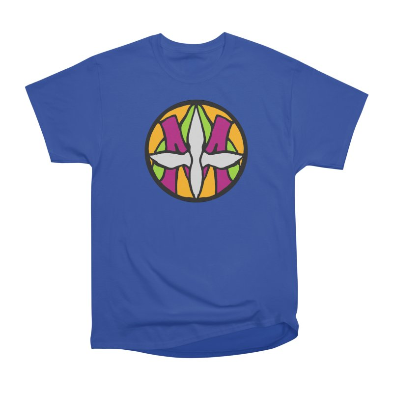 ACEMETRICAL ( / ) CIRCLE LOGO - Morning Star Men's Heavyweight T-Shirt by ACEMETRICAL ( / ) Disc Golf