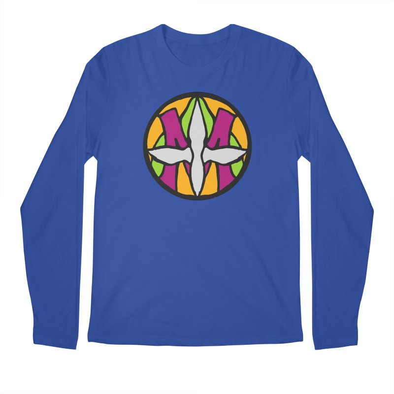 ACEMETRICAL ( / ) CIRCLE LOGO - Morning Star Men's Longsleeve T-Shirt by ACEMETRICAL ( / ) Disc Golf