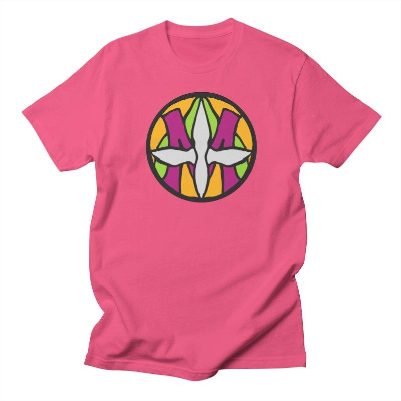 ACEMETRICAL ( / ) CIRCLE LOGO - Morning Star Men's Regular T-Shirt by ACEMETRICAL ( / ) Disc Golf