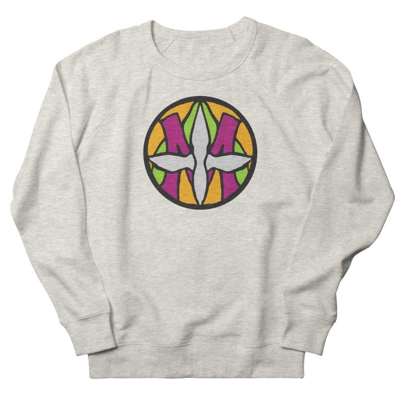 ACEMETRICAL ( / ) CIRCLE LOGO - Morning Star Men's Sweatshirt by ACEMETRICAL ( / ) Disc Golf