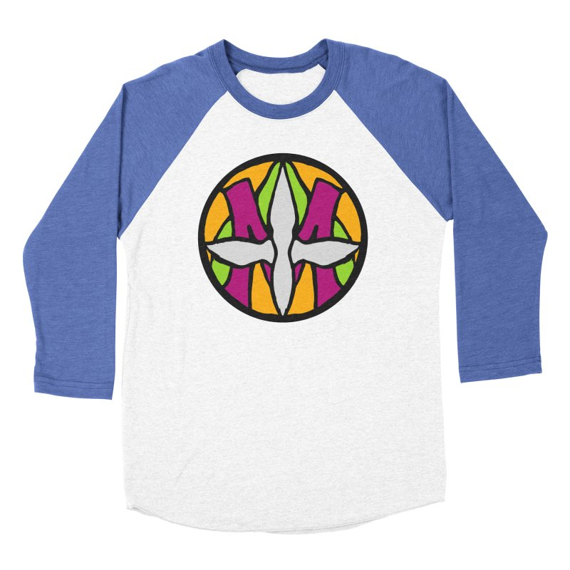 ACEMETRICAL ( / ) CIRCLE LOGO - Morning Star Men's Baseball Triblend Longsleeve T-Shirt by ACEMETRICAL ( / ) Disc Golf