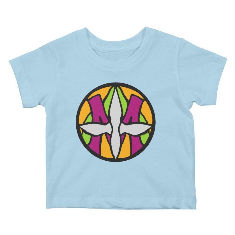 ACEMETRICAL ( / ) CIRCLE LOGO - Morning Star Kids Baby T-Shirt by ACEMETRICAL ( / ) Disc Golf