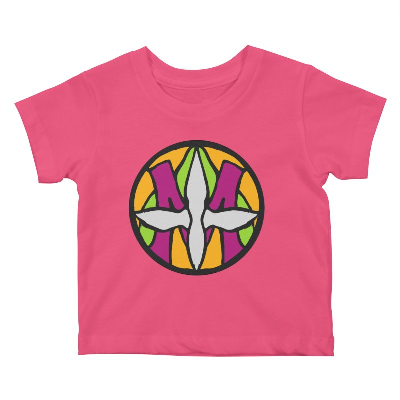 ACEMETRICAL ( / ) CIRCLE LOGO - Morning Star Kids Baby T-Shirt by ACEMETRICAL ( / ) Disc Golf