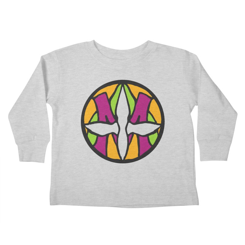 ACEMETRICAL ( / ) CIRCLE LOGO - Morning Star Kids Toddler Longsleeve T-Shirt by ACEMETRICAL ( / ) Disc Golf
