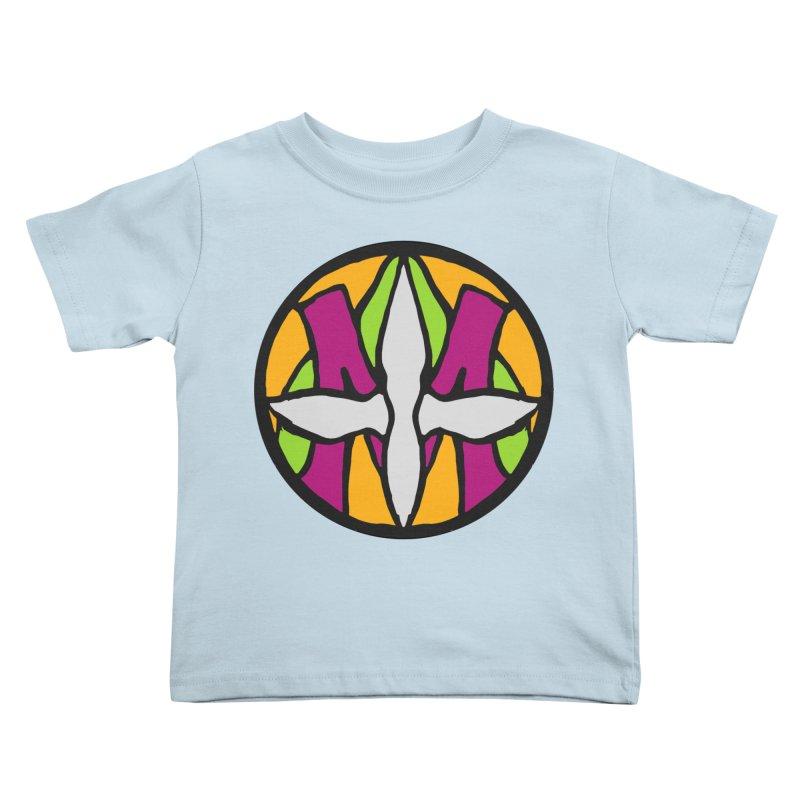 ACEMETRICAL ( / ) CIRCLE LOGO - Morning Star Kids Toddler T-Shirt by ACEMETRICAL ( / ) Disc Golf