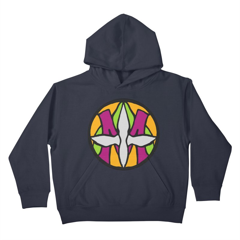 ACEMETRICAL ( / ) CIRCLE LOGO - Morning Star Kids Pullover Hoody by ACEMETRICAL ( / ) Disc Golf