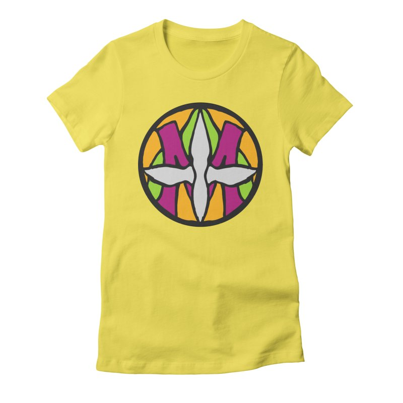 ACEMETRICAL ( / ) CIRCLE LOGO - Morning Star Women's T-Shirt by ACEMETRICAL ( / ) Disc Golf