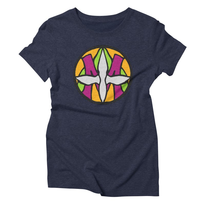 ACEMETRICAL ( / ) CIRCLE LOGO - Morning Star Women's Triblend T-Shirt by ACEMETRICAL ( / ) Disc Golf