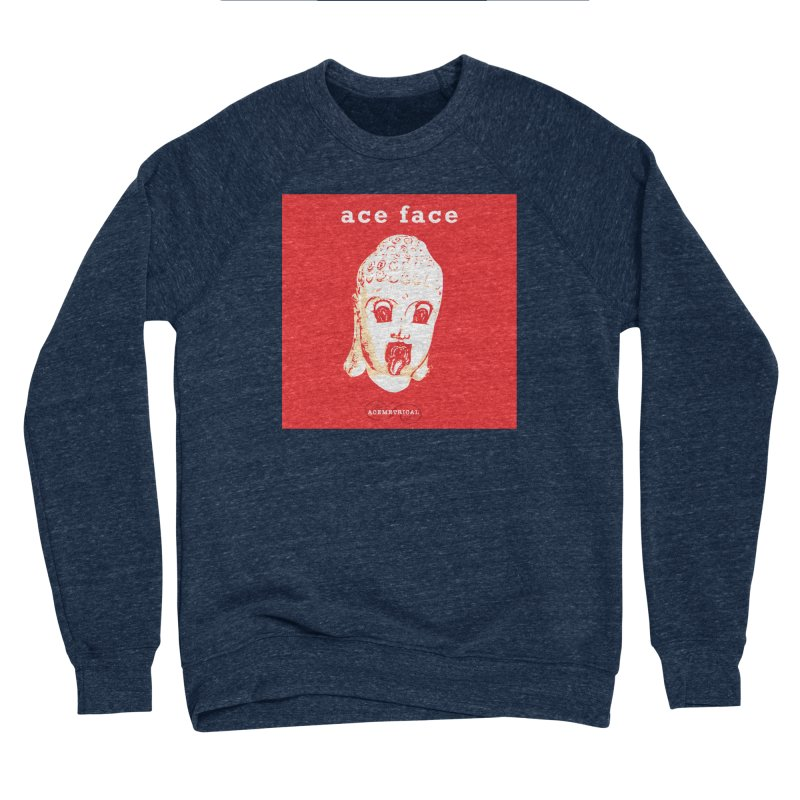 ACE FACE Buddha [REAL RED] ( / ) ACEMETRICAL Women's Sweatshirt by ACEMETRICAL ( / ) Disc Golf
