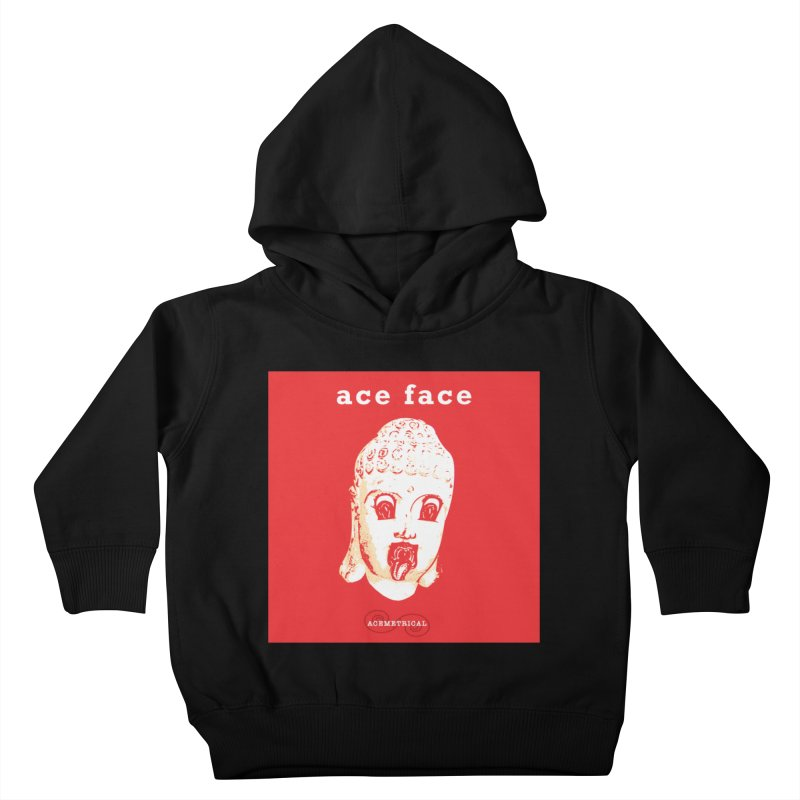 ACE FACE Buddha [REAL RED] ( / ) ACEMETRICAL Kids Toddler Pullover Hoody by ACEMETRICAL ( / ) Disc Golf