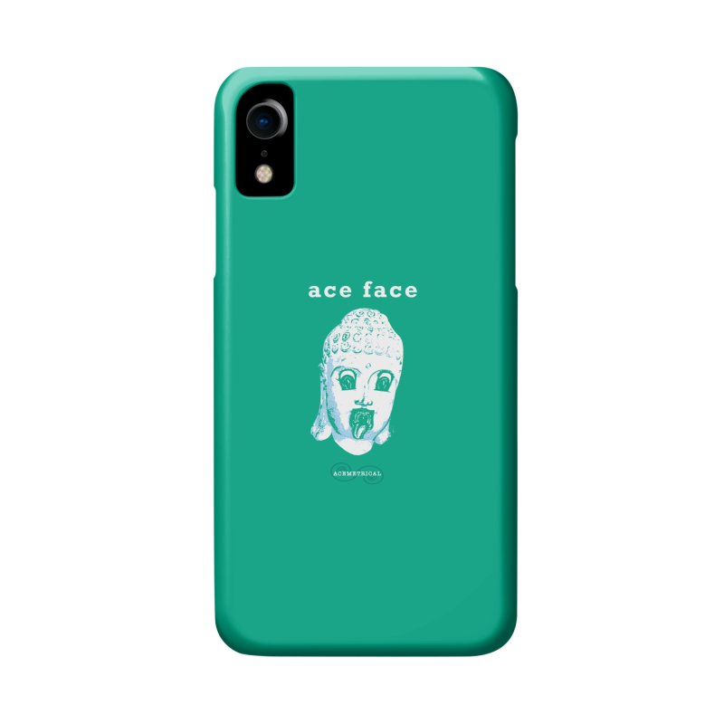 ACE FACE Buddha [AQUAMARINE GREEN] - ACEMETRICAL Accessories Phone Case by ACEMETRICAL ( / ) Disc Golf