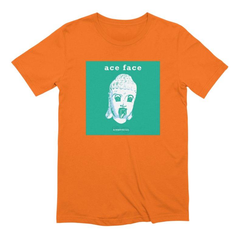 ACE FACE Buddha [AQUAMARINE GREEN] - ACEMETRICAL Men's Extra Soft T-Shirt by ACEMETRICAL ( / ) Disc Golf
