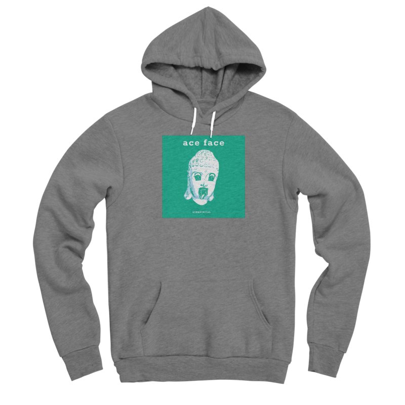 ACE FACE Buddha [AQUAMARINE GREEN] - ACEMETRICAL Men's Pullover Hoody by ACEMETRICAL ( / ) Disc Golf